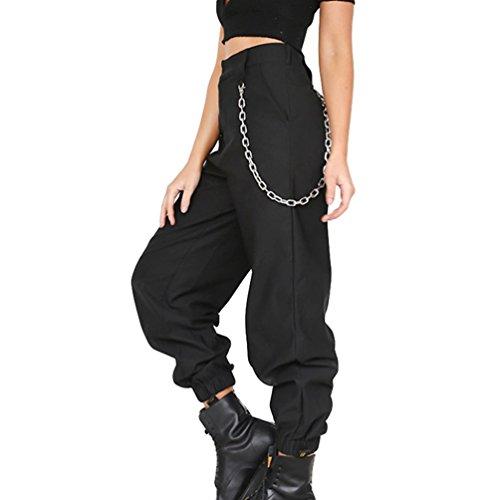 Byqny Mujer Pantalones Harem Sport Deportivos Sueltos