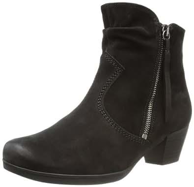 Gabor Shoes Gabor Comfort 76.652.47, Damen Stiefel, Schwarz (schwarz (Micro)), EU 35 (UK 2.5) (US 5)