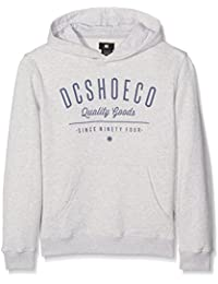DC EDBSF03039 - Sudadera para niños, color Gris (Light Grey Heather), talla Medium