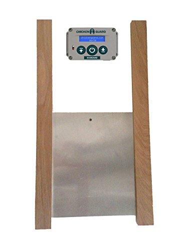 *ChickenGuard Standard Automatischer Türöffner für den Hühnerstall & Tür-Kit*