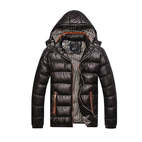 qkl Herbst und Winter Kleidung Neue Männer Casual Baumwollmantel Außenhandel Explosion Modelle verdickt abnehmbare Hut Baumwolljacke