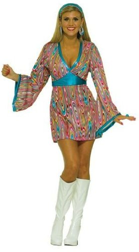 Go Go Swirl Dress (Austin Powers Kostüme Ideen)