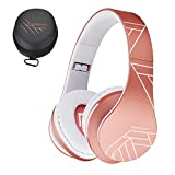 PowerLocus Casque Bluetooth sans Fil, Casque Audio stéréo Pliable sans...