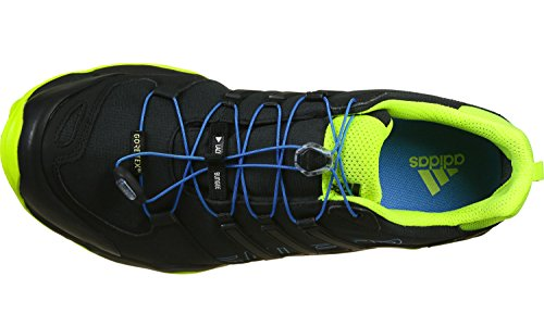 adidas Terrex Swift R Gtx, Chaussures de Randonnée Homme Multicolore - Varios colores (Negro (Negbas / Azuimp / Amasol))