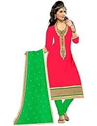 Mahi Fashion Women's Cotton Dress Material (MF23_Free Size_Multi-Coloured)
