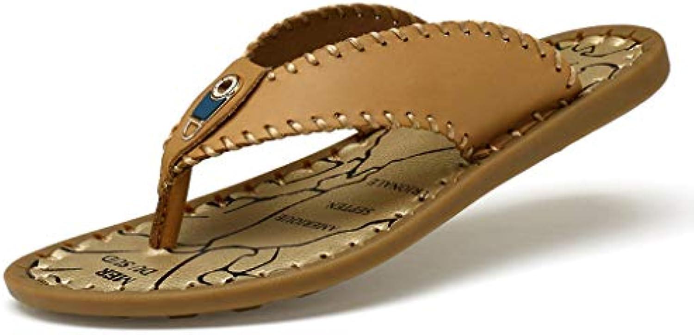 QAR Pantofole Casual da Uomo Flip-Flop da Uomo Marronee Marronee Marronee Estive Pantofole (Coloreee   Marronee, Dimensioni   43) | Online Store  c35fe7