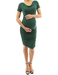 Ropa Embarazadas Elegante AIMEE7 Vestido De Manga Corta Mujer Embarazada