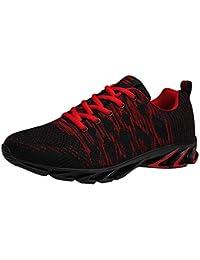 reputable site e5478 db346 Dorical Chaussures de Sport décontractées pour Hommes en Plein air,  Chaussures de Sport Respirantes Volants
