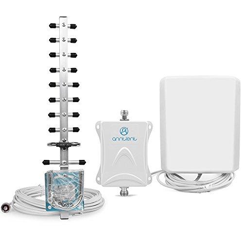 ANNTLENT Handy Signalverstärker 2600MHz (Band 7) gsm verstärker Boost 4g LTE mit lte Antenne