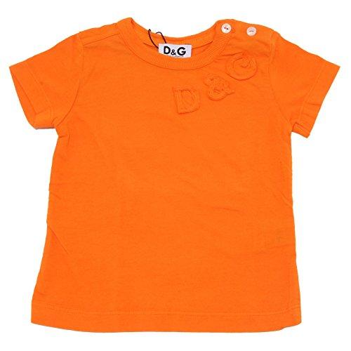 Dolce & Gabbana 7416T Maglia Bimbo D&G JUNIOR Essential Arancione t-Shirt Kid [9/12 Months]