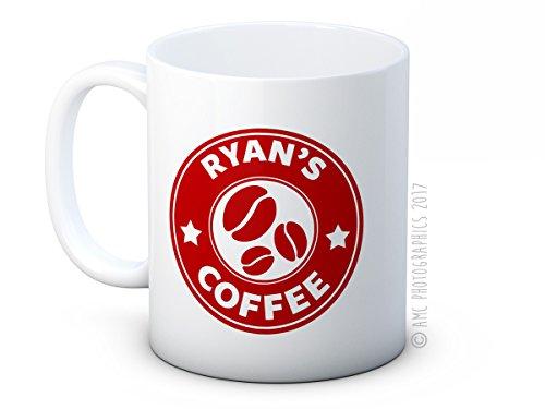 Ihr Name - Personalisierte Costas Stil Kaffee oder Tee Tasse Becher