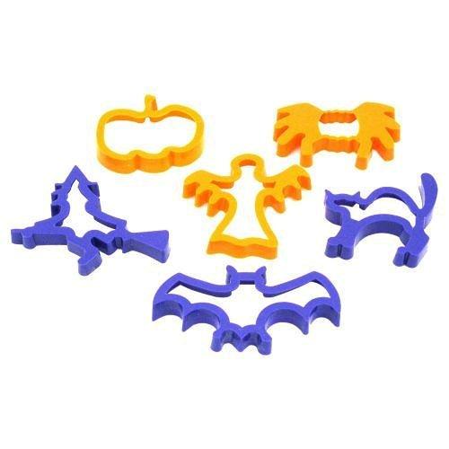 Juego de 6 Cortadores de Halloween