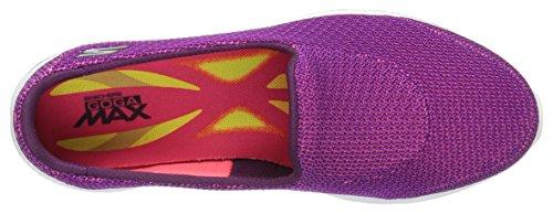 Skechers Go Walk 4, Baskets Basses Femme Violet (Purple)