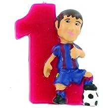 Figura Vela Barça 1 Messi