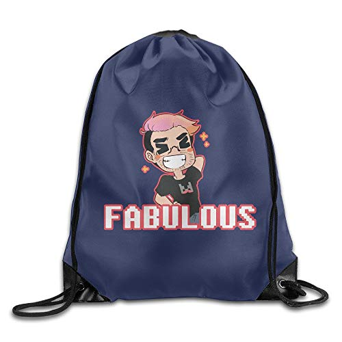 GONIESA Fabulous Sports Bag Drawstring Backpack Fabulous Sheer