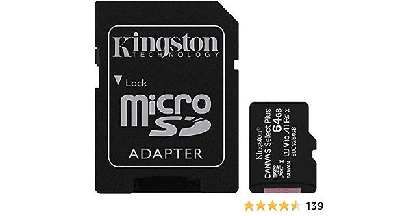 Original Kingston Microsd Sdhc Speicherkarte 64gb Für Elektronik