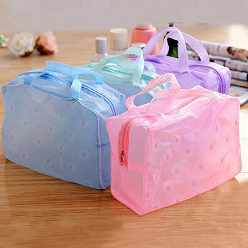 Bag Lift - 1pc Floral Print Zipper Transparent Waterproof Cosmetic Toiletries Bag Travel Bath Wash Hand - Lifter Lift Bags Lenovo Urban Storage Bags Pouch Make Clear Small Drawstring Purse T - Floral Drawstring Shoulder Bag