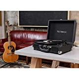 Victrola Suitcase Bluetooth 3-Speed Turntable - Black
