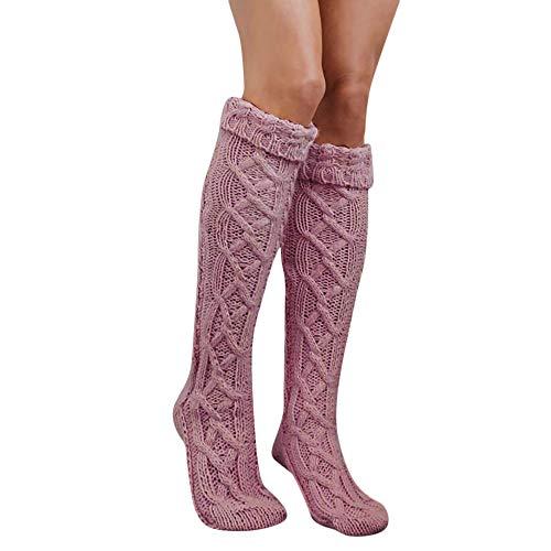 CLOOM Kniestrümpfe Damen Socken Mädchensocken Overknee Strümpfe Strumpfhosen -