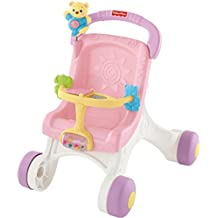 Fisher-Price - Brilliant Basics Stroll-Along Walker (Mattel M9523)