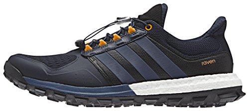 adidas Raven M, Zapatillas de Running para Hombre, Azul / Naranja (Maosno / Azumin / Eqtnar), 42 2/3 EU