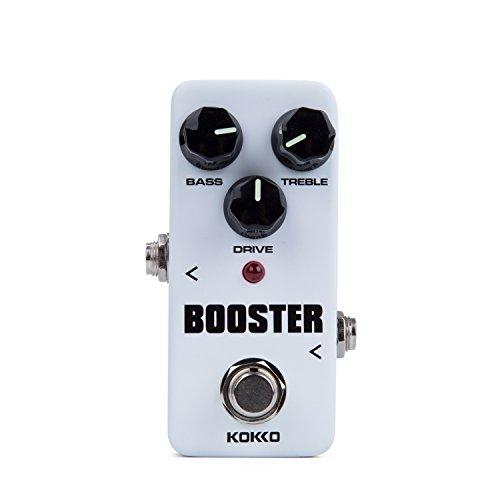 Preisvergleich Produktbild CamGO Kokko FBS2 Mini Booster Pedal 2-Band EQ Gitarre Effektpedal True bypass Weiß