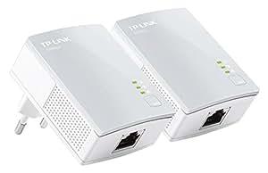 TP-Link CPL AV500 (Débit 500 Mbps), 1 port Fast Ethernet, Pack de 2 CPL (TL-PA4010 KIT)
