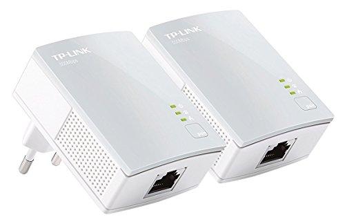 TP-Link TL-PA4010 Kit AV600 Nano Powerline, 1 Porta Ethernet, Plug & Play, Kit con Due Adattatori