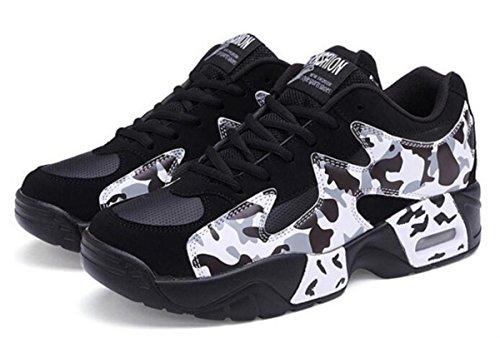 donne s traspirante per il tempo libero scarpe sportive spessore fondo corsa scarpe da donna taglia 35–39 White