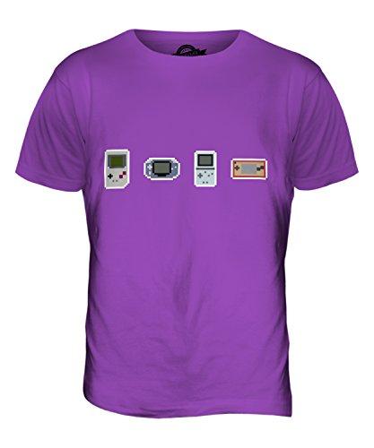 CandyMix Entwicklung Von Videospielen Herren T Shirt Violett