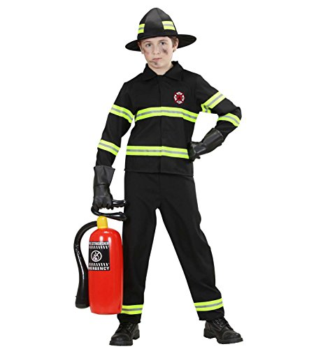 Imagen de widmann 76577  disfraz de bombero para niño talla 140  alternativa