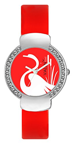 Brosis Deal Women's Rubber Strap Watch