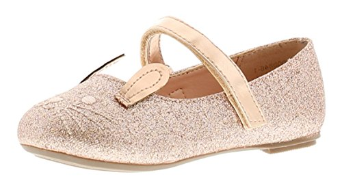 childrens rose gold shoes