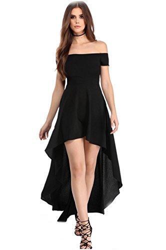 YaoDgFa Sexy Damen Kleider Abendkleid Cocktailkleid Partykleid Kleid Ballkleid Knielang Festlich...
