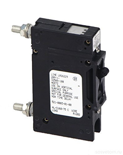 Outback-PNL-100-DC - 100 Amp Panel Mount DC Rated Breaker by Outback Power