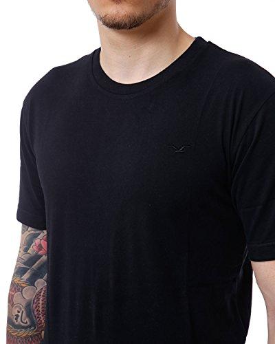 CLEPTOMANICX Herren T-Shirts Ligull Regular Black