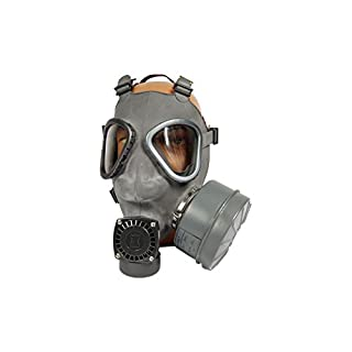 Armeeware Schutzmasken Set M9 Modell 1990 mit Filter und Tasche neuwertig Gasmaske ABC-Ausrüstung