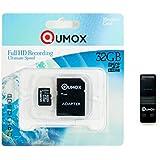 QUMOX Carte mémoire Micro SD 32 Go Class 10 UHS-I 32 Go avec OTG Lecteur USB