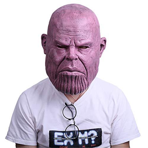 Yujingc Als Maske Kopfbedeckung Avengers Halloween Erwachsene Requisiten für Cosplay Marvel Heroes Infinity Gauntlet Männer Spiel - Disney Infinity Marvel Kostüm
