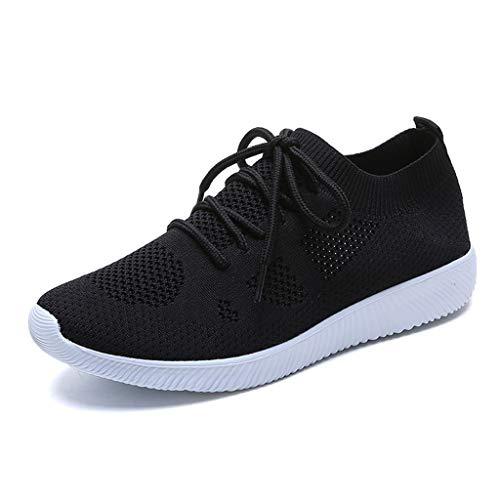 Dtuta Mann-Sport-Turnschuh-beiläufige Turnschuh-Ineinander greifen-Schuhe, leichte Breathable Schuh-Art- und Weiseturnschuh-gehende Schuhe Laufen lässt