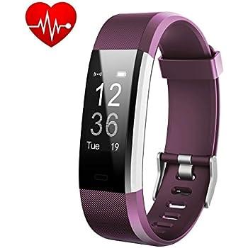 HETP Montre Connectée, Bracelet Connectée Fitness Tracker dActivité Cardiofréquencemètre Etanche IP67 Smartwatch Cardio Podomètre Sport Smart Watch Band ...