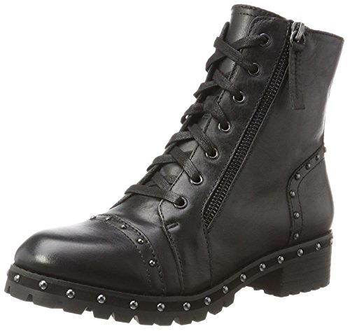 Aldo Women's Cirien Biker Boots, Black (Black Leather), 7 UK 40 EU