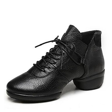 Wuyulunbi@ Donne's Dance Sneakers Boot Split suola esterna tacco basso Rosso Nero Bianco 1 US8.5 / EU39 / UK6.5 / CN40