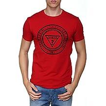 GUESS JEANS M74I43J1300 Camiseta con Las Mangas Cortas Hombre I7liLY5