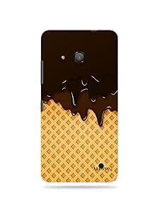 alDivo Premium Quality Printed Mobile Back Cover For Nokia Lumia 550 / Nokia Lumia 550 Back Case Cover (MKD208)