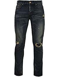 Firetrap Hommes Blackseal Vintage Jeans Pantalon En Denim Decontracte Coupe Slim