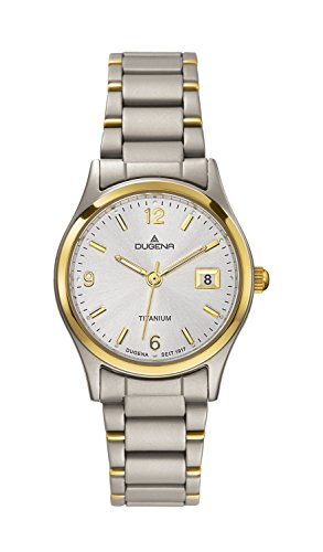 Dugena Classic Ladies Watch Quartz Watch With Metal Strap  4460333