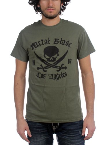 Metal Blade Records - Top - Uomo Verde militare Medium