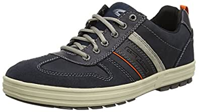 Laponia 40, Sneakers da Uomo, Blu (Blue - Blau (Navy/Midnight/Grey)), 42 EU Camel Active