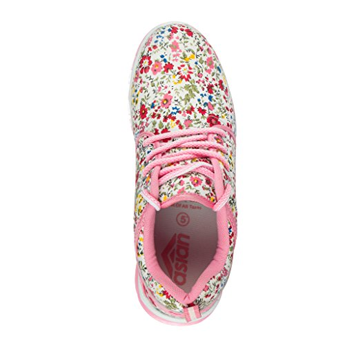 Asian-shoes-Classy-31-White-pink-Canvas-Ladies-Shoes